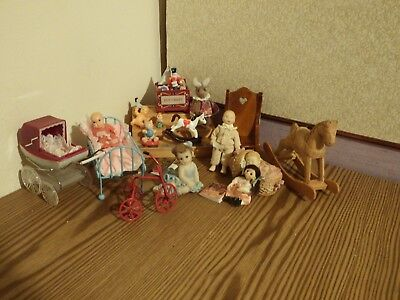 20  dolls house assortment job lot of nursery  items shop/house  1.12th scale