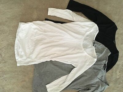 Maternity Size 12 Pack Of 3 Tops New Look