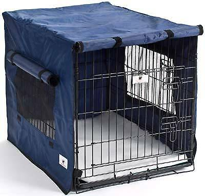 Settledown Waterproof Dog Crate Covers Blue