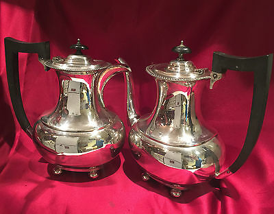 Antique silver plated Coffee Pot & Water Pot