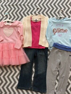 Lot Of 3T Toddler Girl Outfits Osh Kosh Children's Place