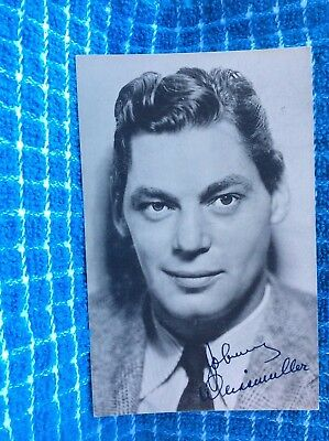 *40 1900's Johnny Weissmuller Great Lakes Exposition Rose's Post Card Postcard