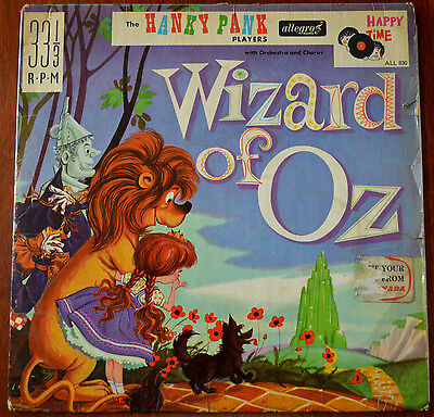 The Hanky Pank Players – The Wizard Of Oz LP – ALL 830 – VG-