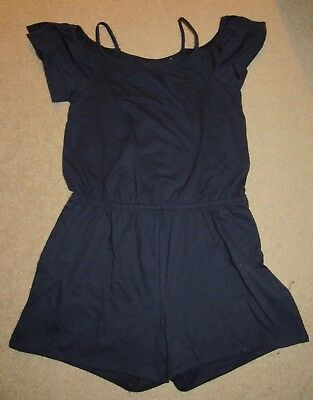 Children's Place Navy Romper for girls size 7/8