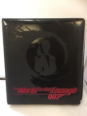 James Bond 007 Trading Card Sets With Binder