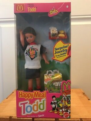 Barbie McDonald's Happy Meal Todd Doll Twin Brother Of Stacie 1993 Mattel NIB