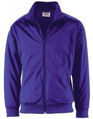 (Large, Purple) - Youth Radiance Warmup Jacket. Teamwork. Free Delivery