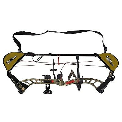 (Flat Dark Earth) - BowSlicker Bow Sling and Cam Guards. Delivery is Free