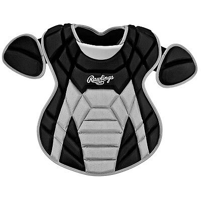 (Black) - Rawlings TTNCP Titan Series Intermediate Size Chest Protector