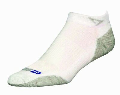 (Small, White/Grey) - Drymax Sport Mini Crew Socks. Shipping Included
