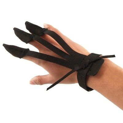 (Black) - Antwalking Archery Three Finger Shooting Protective Gear Pull Bow