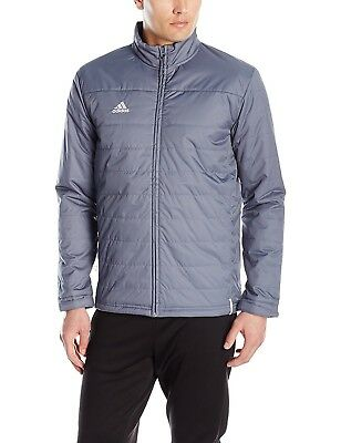 (X-Large, Onix Grey) - adidas Mens Team Sports Transition Jacket. Best Price
