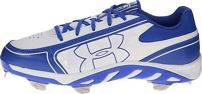 (7 B(M) US, White/Team Royal) - Under Armour Women's UA Spine Glyde ST CC