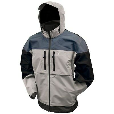 (X-Large, Dove Gray/Slate/Black) - Frogg Toggs Toadz Anura Jacket. Best Price