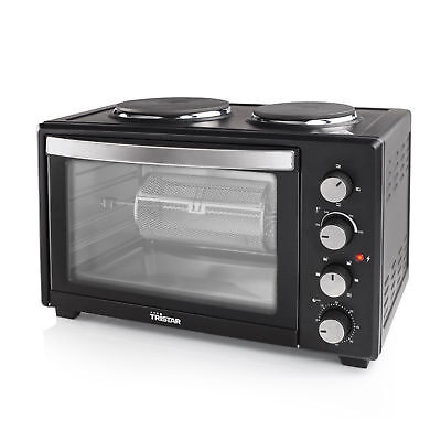 Tristar Rotisserie 45 Litre Oven with Two Hot Plates and Timer