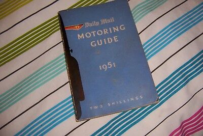 Daily Mail Motoring Guide 1951 Collectible Car