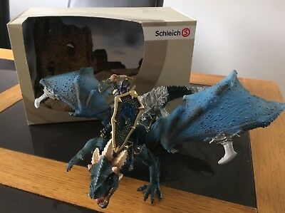 Schleich Blue Dragon Rider 72025 World Of history Knights Drachenreiter
