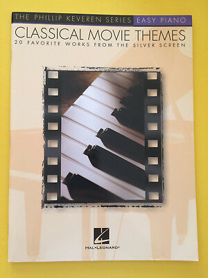 Classical Movie Themes, 20 Favorite Works from the Silver Screen, Easy Piano