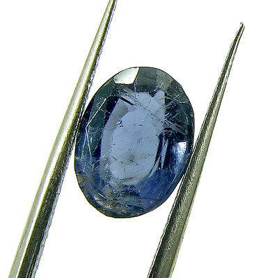 2.30 Ct Natural Blue Iolite / Neeli Oval Cut Loose Gemstone Stone - 7211