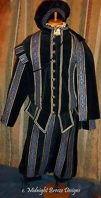 MADE TO ORDER Mens Renaissance Elizabethan Costume Suit -Your Size-Layaway Avail