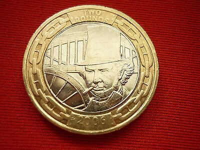 £2 2006 Isambard Brunel Engineer  2 Pound Coin    Free Post