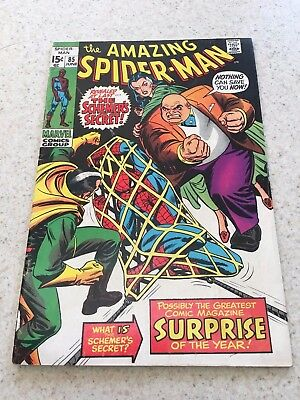 Amazing Spider-Man  85   Fine+  6.5   The Kingpin     Homecoming Movie