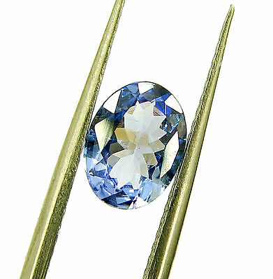1.13 Ct Certified Beautiful Natural Tanzanite Loose Oval Gemstone Stone - 118426