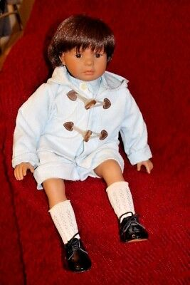 """CARMEN GONZALEZ D'NENES Unique Hand Crafted Doll - ONE of a KIND - 23"""" TALL"""