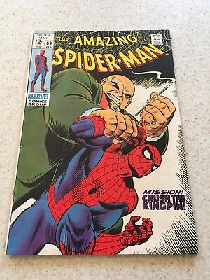 Amazing Spider-Man  69  VF  8.0  High Grade  The Kingpin    Homecoming Movie