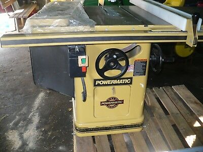 "Powermatic Gold Series 10"" TILTING ARBOR SAW -model 66- ,5 HP. 3Phase- WORKS!"