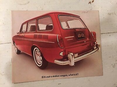 Volkswagen VW if it's not Station Wagon What is it Squareback Sales Brochure 65