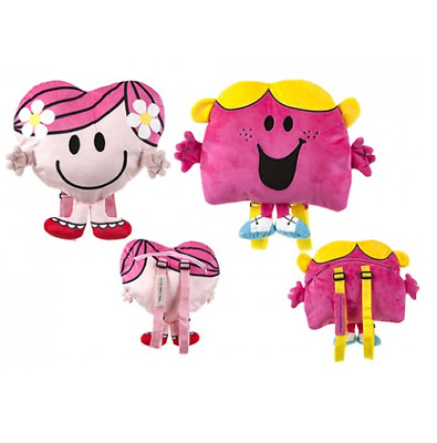 Mr Men And Little Miss Backpacks Bags - Bump, Happy, Chatterbox (PMS)