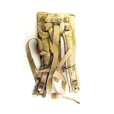 MOLLE II Back Pack Shoulder Straps Desert Camo