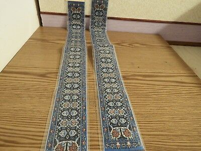 2x new Dolls House stairs Turkish Carpet 1.12th scale lot 41