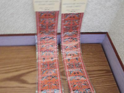 2x new Dolls House stairs Turkish Carpet 1.12th scale lot B