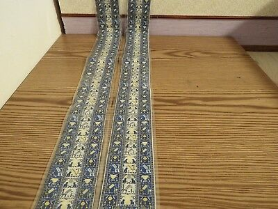 2x new Dolls House stairs Turkish Carpet 1.12th scale lot 42