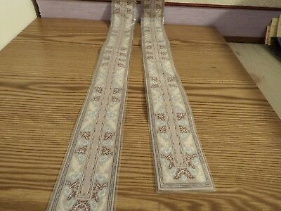 2x new Dolls House stairs Turkish Carpet 1.12th scale lot 51