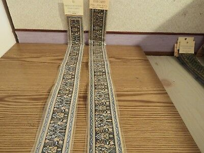2x new Dolls House stairs Turkish Carpet 1.12th scale lot 47