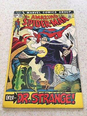 Amazing Spider-Man  109  VF+   8.5  High Grade  Dr.Strange   Homecoming Movie
