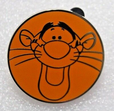 TIGGER Character Booster Pack Round Face DISNEY Pin - 116094