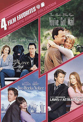 4 Film Favorites: Romantic Comedies Laws of Attraction, Must Love Dogs, Two Wee