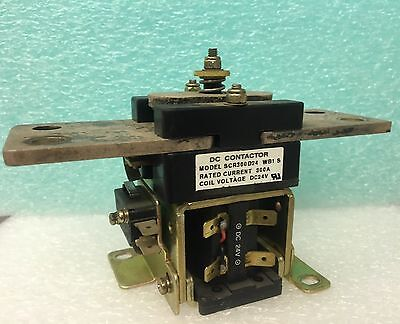 The All Power Source 300A 24VDC COIL DC CONTACTOR SCR300D21 WB1S