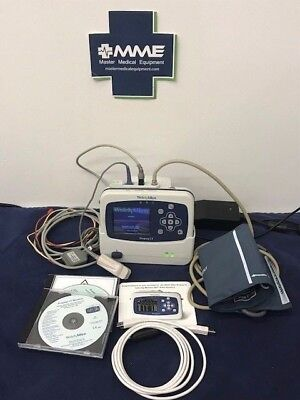Welch Allyn Propaq LT Vitals Monitor w/ cradle, all accessories, warranty