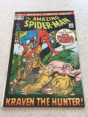 Amazing Spider-Man  104  VF 8.0  High Grade  Kraven The Hunter  Homecoming Movie