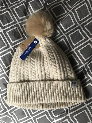 Brand New Joules Lambswool Hat