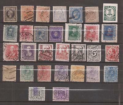 Spanien ( Spain ) - Lot Of Very Old Stamps