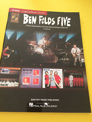 Ben Folds Five, Keyboard Signature Licks, Ted Lowry