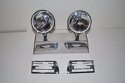 Porsche Hella 118 horn grill driving lights 911 912 with horn grills