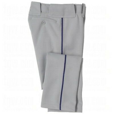 (XX-Large, Grey/Navy) - Mizuno Youth Select Pro Piped Pant. Free Shipping