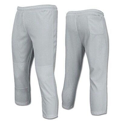 Champro Value Pull-Up Boys Baseball Pant, Grey, Size X-Small. Delivery is Free